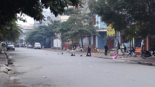 Vụ nổ ở Bắc Ninh