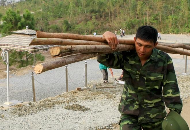 Gấp rút bảo vệ mộ Đại tướng Võ Nguyên Giáp trước siêu bão Hải Yến ảnh 8