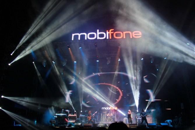 Một ban nhạc rất được rockfan rất chờ đợi đó là màn biểu diễn của ban nhạc khách mời quốc tế Andromeda đến từ Thụy Điển.
