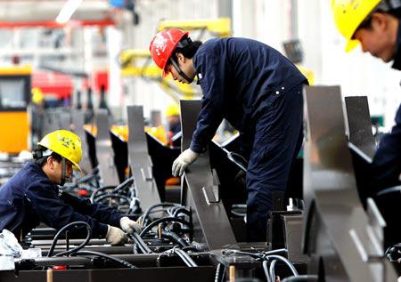 Nhà thầu Trung Quốc ngày càng chiếm ưu thế tại các dự án tại Việt Nam. Ảnh: Xinhua