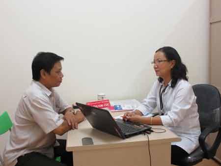 BS An Thị Kim Cúc - BS chuyên khoa I dinh dưỡng tư vẫn cho bệnh nhân