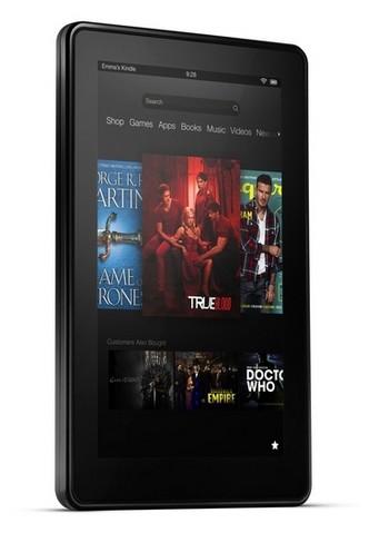 Kindle Fire thế hệ mới vẫn có màn hình 7-inch và kiểu thiết kế như phiên bản cũ