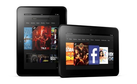 Kindle Fire HD 7 là phiên bản thu gọn của Kindle Fire HD 8.9