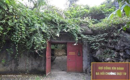Lối vào trang trại của ông Nguyễn Công Đức...