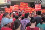 Tiểu thương An Đông Plaza đóng sạp, tụ tập phản đối chủ đầu tư