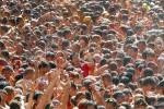 Sắc đỏ ngập tràn trong lễ hội cà chua ở Tây Ban Nha
