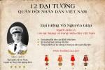 12 Đại tướng của Quân đội Nhân dân Việt Nam
