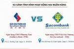 Hoạt động của Sacombank và Southern Bank trước ngày sáp nhập
