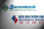 Vẫn chưa thể sáp nhập Southern Bank vào Sacombank